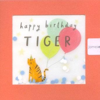 Happy Birthday Tiger.