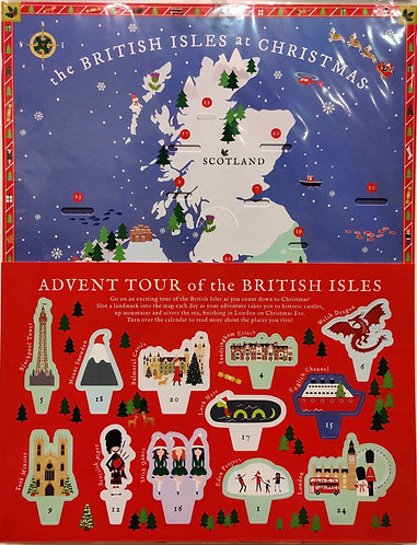 Advent Calendar British Isles