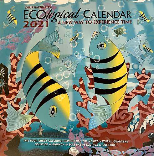 Calendar 2021 Ecological Wall