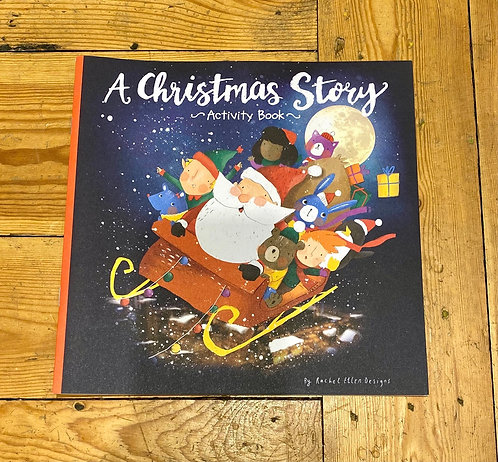 A Christmas Story Kids Activity Book