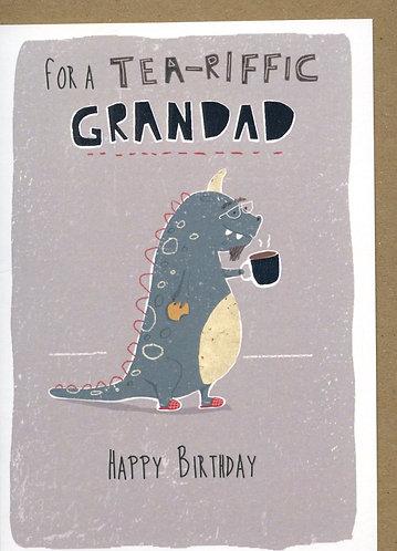 Grandad...Tea-riffic.