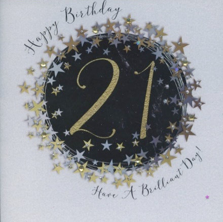 21 Have a brilliant day.