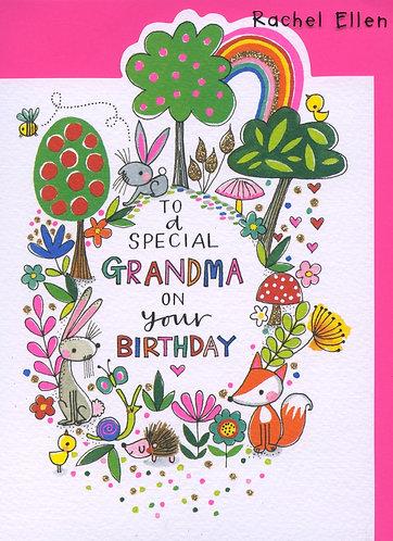 Grandma, to a special.