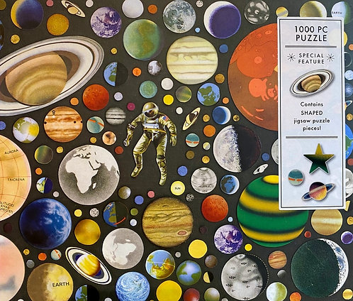 Jigsaw Puzzle Outer Space
