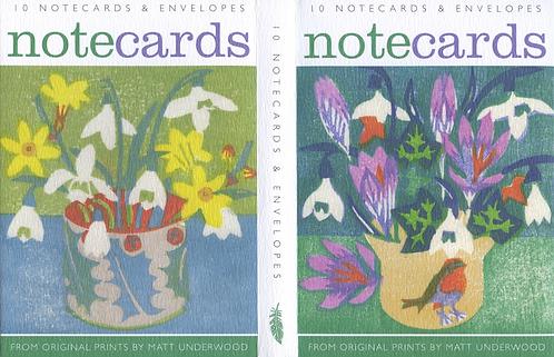 10 Notecards by Matt Underwood