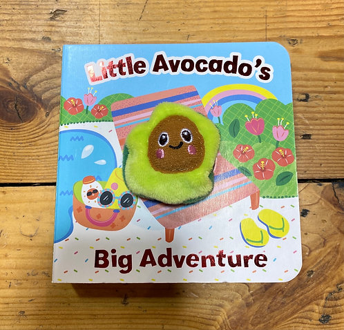 Little Board Book Baby Avocado Adventure