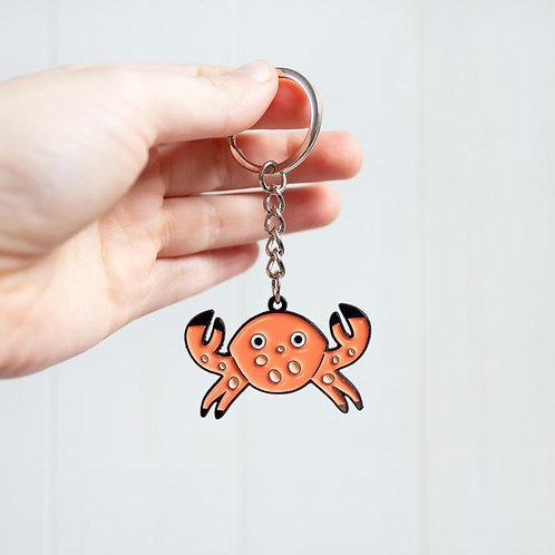 Cute Crab Keyring