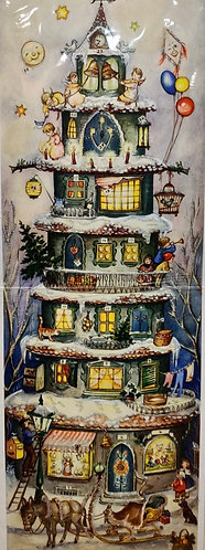 Advent Calendar Tower from 1955