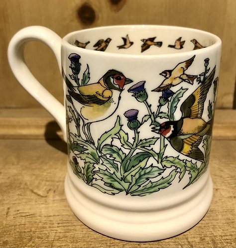 Goldfinch half pint mug.