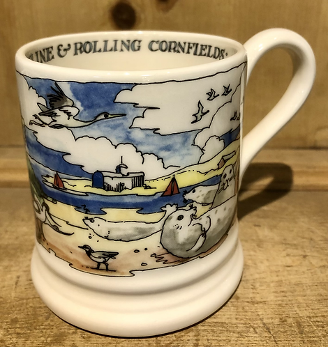 Norfolk Coast half pint mug.