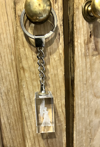 Guardian Angel Keyring.