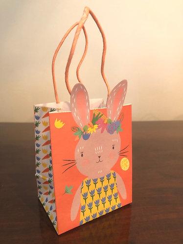 Easter Gift Bag Rabbit