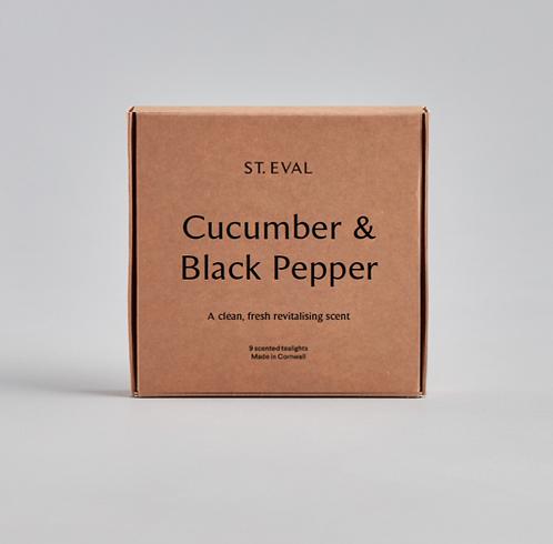 St. Eval Cucumber & Black Pepper Tealights