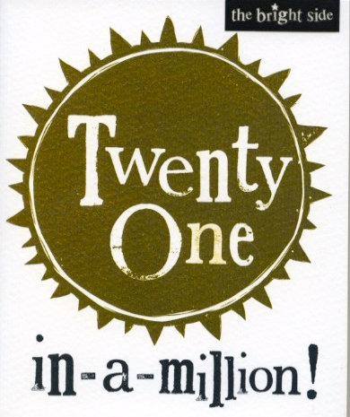 21 in a million