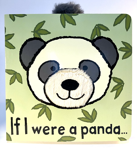 Jellycat Board Book, If I were  Panda.