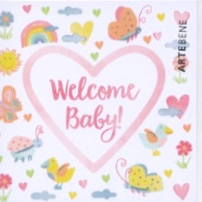 Welcome Baby (Small card)