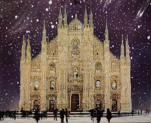 Advent; Milan Cathedral Glittery