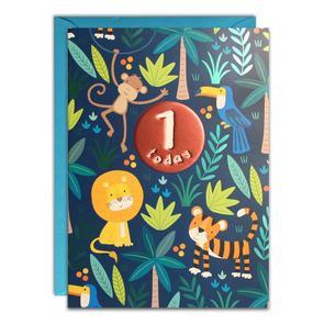 Age 1 Jungle Birthday