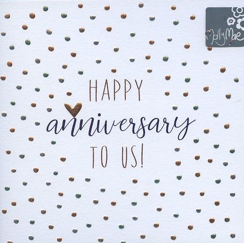 Happy Anniversary to us.