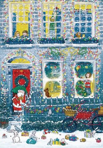 Christmas House Advent Calendar