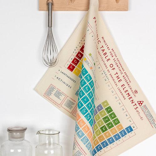Periodic Table Tea Towel
