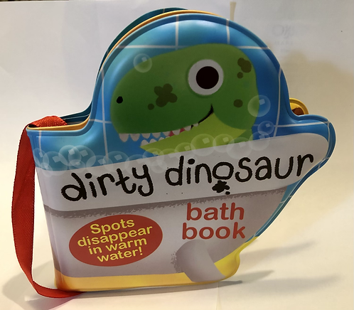 Magic Dirty Dinosaur Bath Book