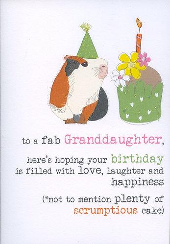 Granddaughter,Fab..