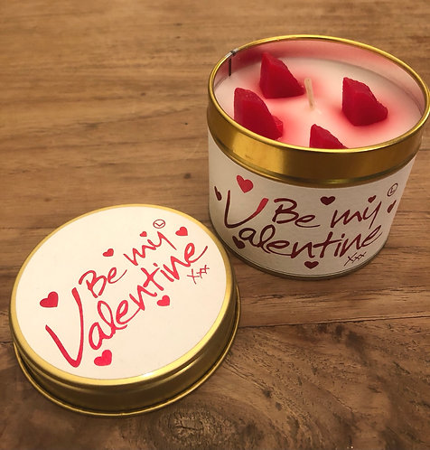 Valentine Scented Candle.
