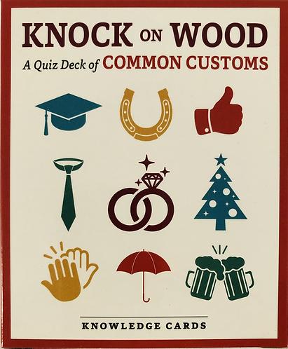 Quiz Deck of common customs.