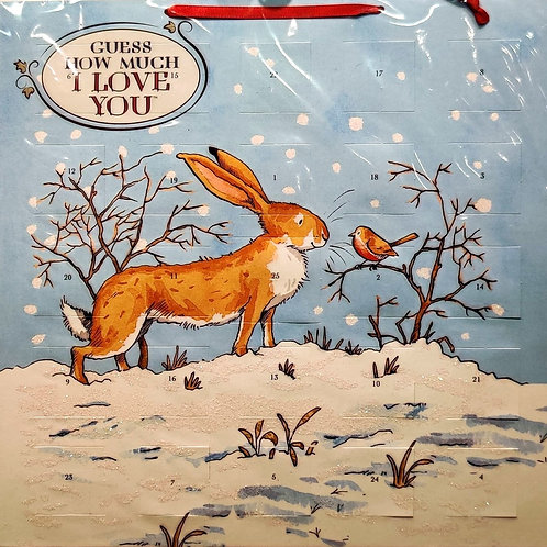 Advent Calendar Guess How Much I Love You Rabbit