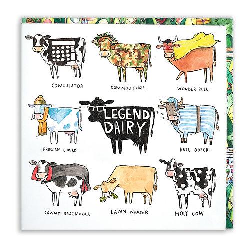 Legend Dairy Card