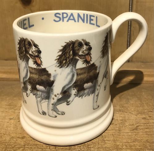 Spaniel half pint mug.
