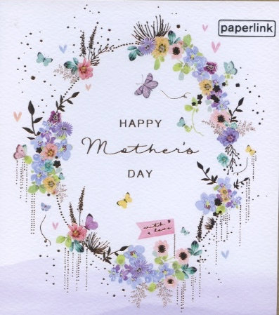 Happy Mother's Day, with love