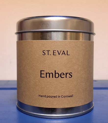 Embers Scented Candle.