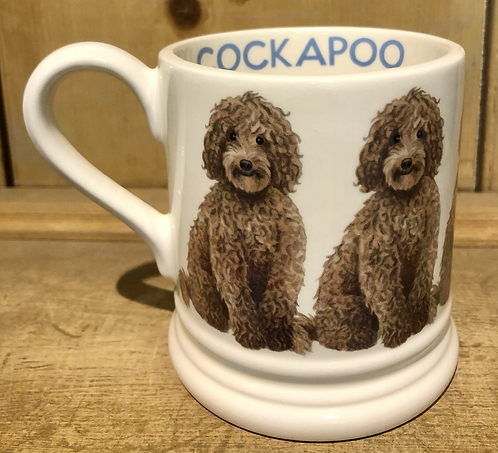 Cockapoo half pint mug.