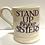 Thumbnail: Strong Women half pint mug.