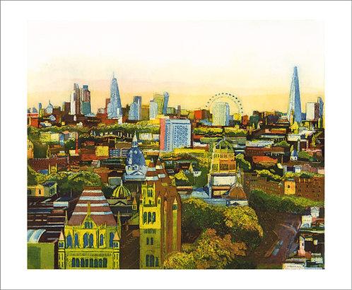 Golden City Card