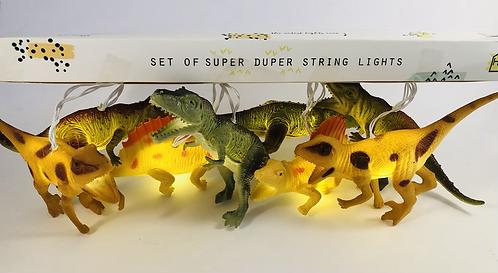 8 Dinosaur Lights.
