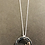 Thumbnail: Silver Plated Hoop with Rose Gold plated Stars Necklace.