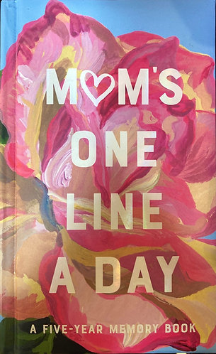 Mum's One Line A Day Journal