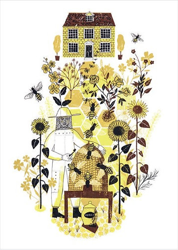 Telling The Bees Card