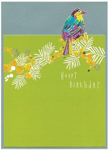 Happy Birthday Cut-Out Card
