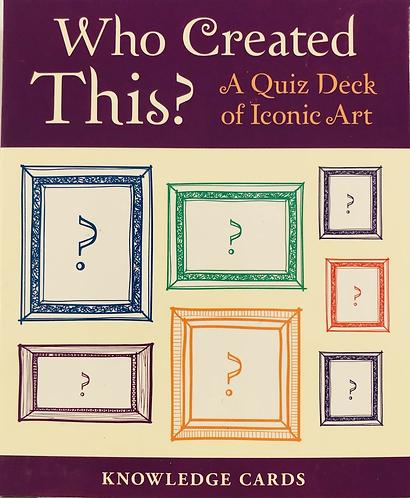 Quiz Cards of Iconic Art.