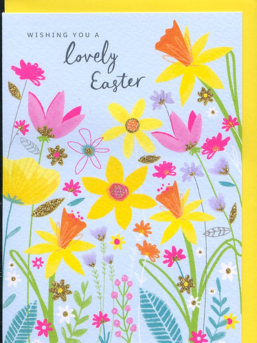 Wishing you a Lovely Easter.