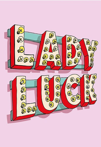 Lady Luck Card
