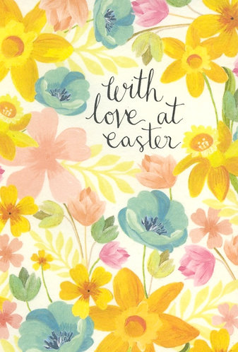 With Love at Easter. (10 Cards).