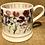 Thumbnail: Sweet pea half pint mug