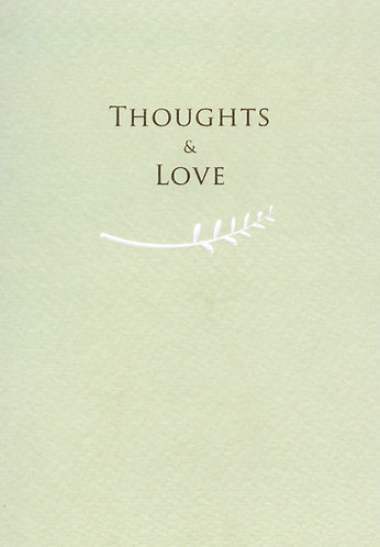 Thoughts & Love