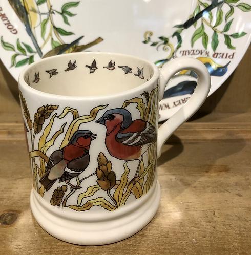 Bird Half pint mug.