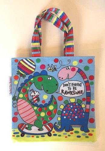 Child's Dinosaur Bag.